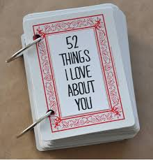 diy things i love about you gift
