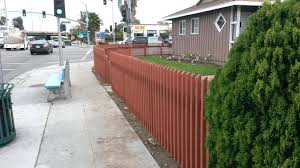 building a fence expertcom installing panels on uneven ground corners wood