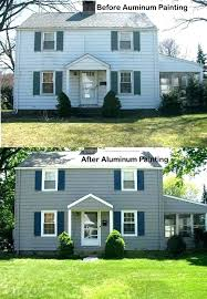 painting vinyl siding reviews painting vinyl siding before and after vinyl siding paint aluminum siding painting vinyl siding paint before