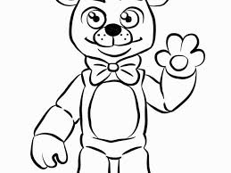 5 Nights At Freddy S Coloring Pages Golden Freddy Coloring Page