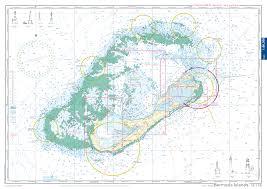 Chart Of Caribbean Islands Nv Charts Reg 16 1 Bermuda Islands Passageus East Coasts