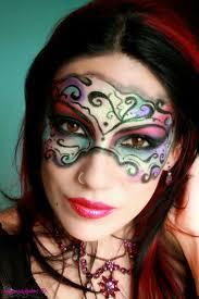 makeup tutorial lalya you re wearing facepaint too i say she giggles masquerade mask makeupmasquerade
