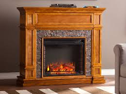 belleview sienna electric fireplace media console fe9333 southern enterprises