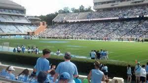 Kenan Stadium Blue Zone Seating Chart Photos At Kenan Memorial Stadium