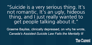an open uncomfortable conversation on mental health suicide graeme bayliss quoteboard