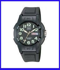 q q men s quartz battery adult watches 12 hour dial sports black men watch q q a128j002y quartz movement