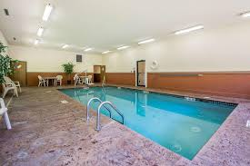 the swimming pool at or near quality inn suites decorah