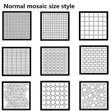 broken glass mosaic tile design ideas