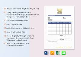 Price Quotation Template In Word Excel Google Docs Apple Pages