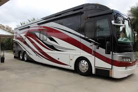 American Coach Bus 2008 Fleetwood American Coach Eagle 42c Diesel Pusher