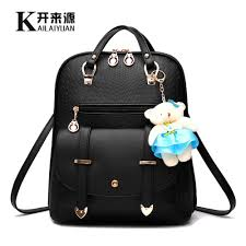 KLY <b>100</b>% <b>Genuine leather Women</b> backpack 2019 New female ...