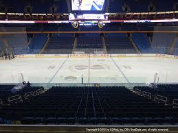Keybank Center View From Club Level 207 Vivid Seats