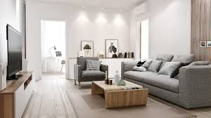 light gray living room furniture. Cool Grey Sofa Design With Modern Wood Coffee Table For Apartment Living Light Gray Room Furniture