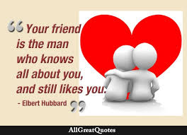 Quotes On Friendship Best Friendship Quotes Famous Friendship Quotes AllGreatQuotes