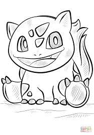 Printable Coloring Page Bulbasaur Pokemon Coloring Page Free Printable Coloring Pages 9