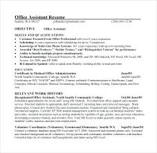 Office Administration Resume Examples Medical Office Administration Resume Yuriewalter Me