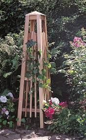 diy garden trellis obelisk trellis