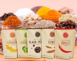 Turmeric Powder Packaging Design Spices Packaging Flexible Packaging