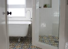 Part Tiled Bathrooms Bathroom Tile Design Ideas Archives The Cement Tile Blogthe