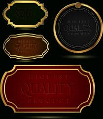 Free Leather Templates Quality Tags Templates Yellow Border Leather Pattern Decor