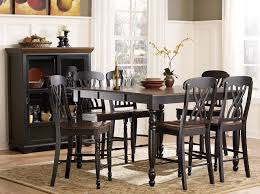 Dining Room Table Black Counter Height Dining Room Sets Acme Vendome 5pc Round Counter