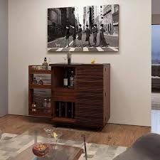 Living room bars furniture Wooden Corridor Bar By Bdi Dwell Shop Modern Furniture Living Room Bar Cabinets Bar Carts Dwell