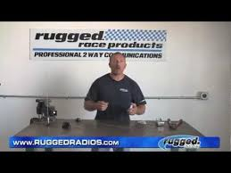 Rugged Radios Mobile Radio Antenna Tuning Trimming And Connector Installation