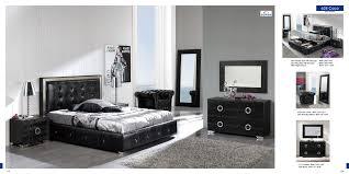 interior  black bedroom furniture intended for elegant