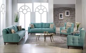 Turquoise Living Room Furniture Neva Turquoise Istikbal Furniture