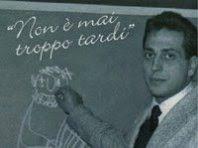 """15 novembre 1960 : la prima storica trasmissione del maestro Alberto Manzi  """"Non è mai troppo tardi"""" – San Paolino's Voice"""