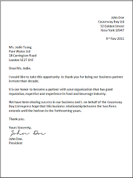 Formal Business Letter Format | Official Letter sample template ...