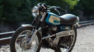 honda cl200 custom cafe racer scrambler bratstyle tracker motorcycle 1974