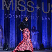 contestant in miss minnesota usa beauty pageant wore a burkini and the beauty pageant contestant wore a burkini