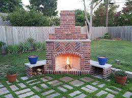Small Picture Top 25 best Outdoor fireplace brick ideas on Pinterest Diy