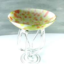 glass pedestal bowls milk glass pedestal bowl glass pedestal bowl reed and clear glass inch pedestal glass pedestal bowls