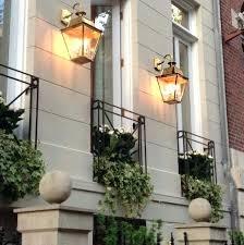 wall lights victorian outdoor wall lights large brass 3 light downward lantern style