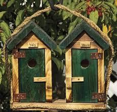 cool wooden bird houses photo 3
