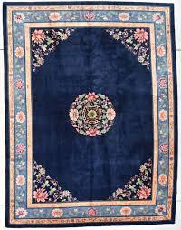 vintage nichols art deco chinese oriental rug 7728