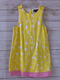 Toobydoo Size Chart Tooby Doo Girls Size 8 Polka Dot Yellow Summer Dress