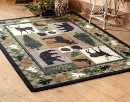 rustic cottage rugs best images on area and birch lane forest decor lodge rustic log cabin area rugs