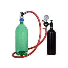 soda carbonating kit 20 oz co2 tank