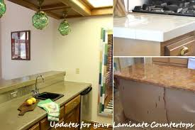 Laminate kitchen countertops Black Homedit Diy Updates For Your Laminate Countertops without Replacing Them