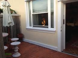 dover garden suites. Dover Garden Suites: Front Porch (fenced In) And Door To Room Suites