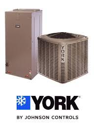 york split system. 4 ton 16 seer york air conditioning system - ycjf48s41s1 ahe60d3xh21 s11tvm4j1 split e
