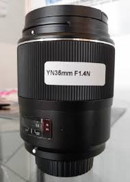 last year yongnuo announced a new yn 35mm f 1 4 full frame dslr lens but so far only the canon version has been available more info on the lens is