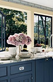 painted blue kitchen cabinets house:  ideas about blue kitchen countertops on pinterest blue backsplash beach house kitchens and blue countertops