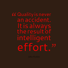 John Ruskin Quote About Effort