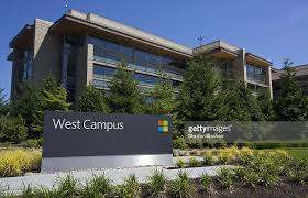 photo microsoft office redmond washington. A Building On The Microsoft Headquarters Campus Is Pictured July 17, 2014 In Redmond, Photo Office Redmond Washington