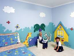Painting For Kids Bedrooms Wall Painting For Kids Bedroom Colors 9 Awesome Wall Murals For