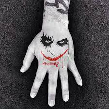 Vodotěsný Dočasné Tetování Nálepka Tattoo Suicide Squad Harley